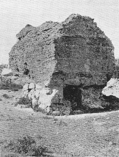 Torres acuarias del abastecimiento romano de agua a Toledo en el siglo XIX.