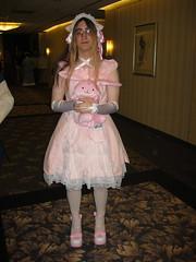 Sweet Pink Lolita (blueZhift) Tags: crossdressing lolita egl crossplay brolita