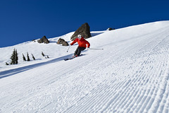 - Alpine Meadows CA skiing