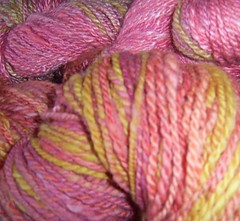 Safflower yarns