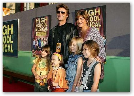Lisa Rinna with Family