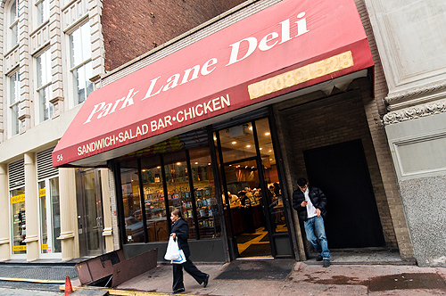 Downtown Lunch: Park Lane Deli