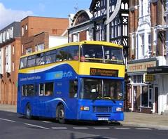 BlueStar (PD3.) Tags: blue bus buses star blueline east shuttle solent portsmouth southampton lancs x27 m736bbp