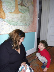 pollie+ian. so cute! (stephiblu) Tags: november autumn party guests fun nj montclair 2008 autumnball autumnball2008 tichenortichenors