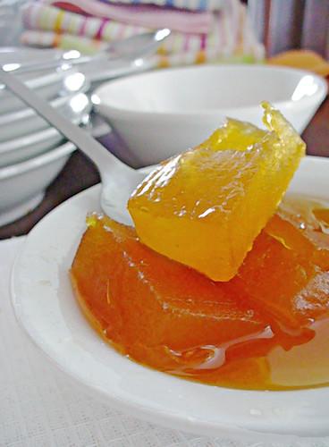 Candied Pumpkin (Abobora em calda)