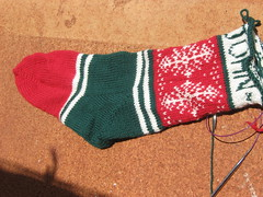 Fair Isle Chrissie stocking - John (3)
