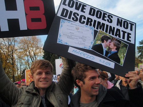 Prop 8 Protest, Seattle