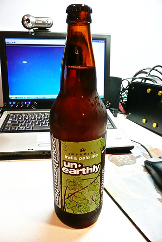 Week 12 - 52 Beers: Southern Tier Un-Earthly Imperial Indian Pale Ale IPA