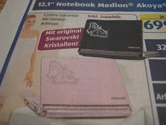 Aldi Medion-Notebook mit Swarovski-Kristallen