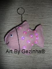 chaveiro peixe (Artes da Gezinha) Tags: chaveiros