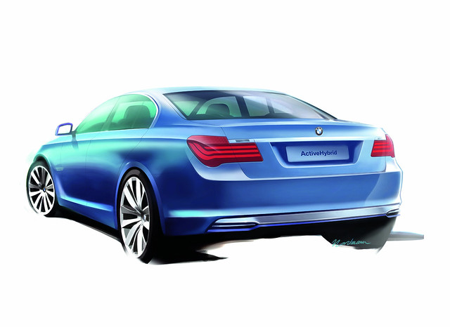 "bmw hybrid car"" series"" ""7 activehybrid ""concept"