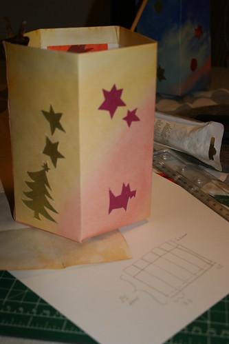 Making a lantern