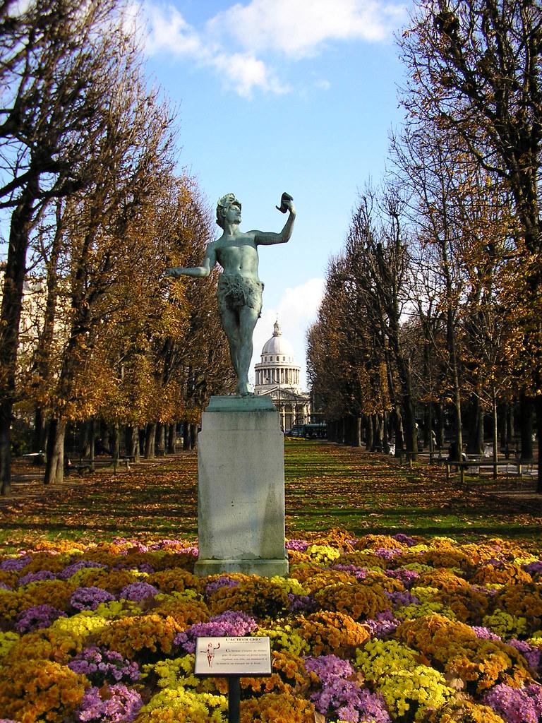 Jardines de Luxemburgo,París