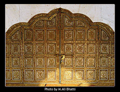 Antique Gate in Data Darbar Lahore1 (M.Ali Bhatti {trying to catch up with flickr}) Tags: from wood blue pakistan sky white black building men green art history beautiful beauty saint night clouds sharif person gold dawn golden evening design photo gate shrine artist arch place graphic iran dusk gates antique steel arches palace snap mosque ali fantasy dome chamber copper data historical alive marble syed brass sufi shining vector lahore masjid minarets islamic noble ajmer pak ganj emboss embossing irani mazar hazrat pillers wali piller darbar baksh bareily flickrlovers hajvery