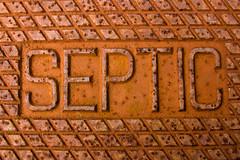 CA275 Septic Cover (listentoreason) Tags: usa metal america canon newjersey rust unitedstates decay places material corrosion ef28135mmf3556isusm score30 howellfarm howelllivinghistoryfarm