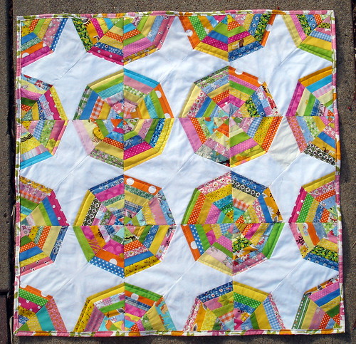 spiderweb quilt tutorial