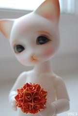 Kusudama (mercer_spb) Tags: orange origami handmade bjd ringo kusudama pipos