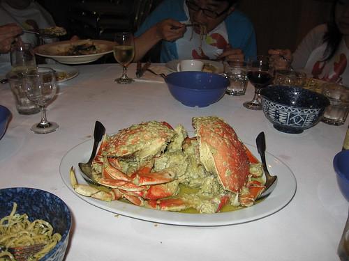 Crab crab crab crab crab crab!