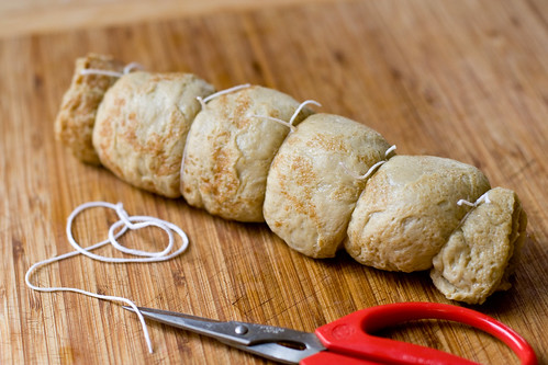 Tying the Roulade, method #2