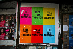 Free Tom Thomson (Chris Beauchamp) Tags: street toronto ontario color colour canon queen xti copyrightchrisbeauchamp20072009