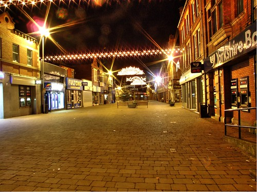 Castleford Xmas Lights HDR