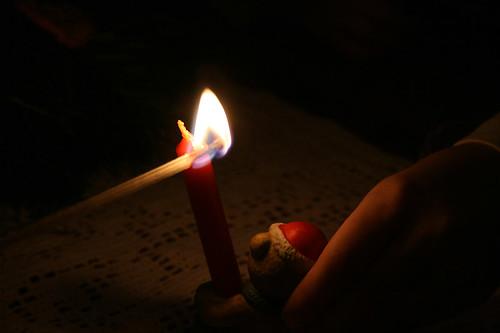 der erste Advent Kerzenschein01