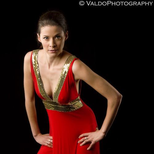 Olivia - Red Dress