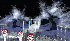 Avilion Hinterlands (Osiris LeShelle) Tags: life winter snow decoration medieval secondlife second sim roleplay yuletime avilion