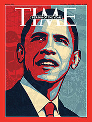 Time Person of the Year 2008 - Barack Obama - ...