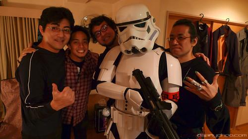 Afro Samurai creators with Danny Choo