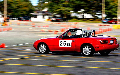 National Speed - Autocrossing Miata