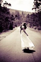 kaloko (SARAΗ LEE) Tags: road wedding white motion girl hawaii dress spin prom bigisland kona kaloko sarahlee johnnyp legothenego vivantvie