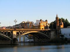 Sevilla (Graça Vargas) Tags: bridge españa sevilla spain triana graçavargas trianabridge pontetriana ©2008graçavargasallrightsreserved 3804270109