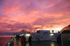 Sunrise (cosmo_71) Tags: camera ireland sea sky dublin irish sunrise out nikon ship ulysses irishsea d40 outofcamera