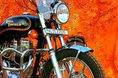 Modified Royal Enfield (kence_goergey) Tags: india kerala bullet royalenfield