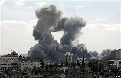 Raids on Gaza