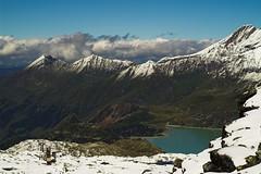 Tauernmoossee II (MarekP) Tags: lake mountains alps landscape geotagged austria sterreich hiking explore hohetauern explored aplusphoto geo:lat=47120315 tauernmoossee uppertauern geo:lon=12633634