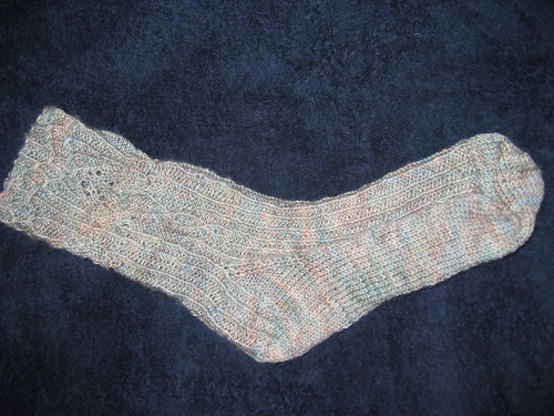 first Rivendell Sock completed