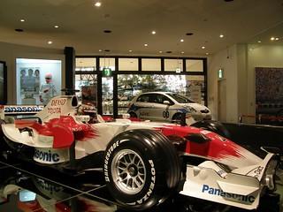 《トヨタ会館》Jarno Trulli 座駕 TF-108