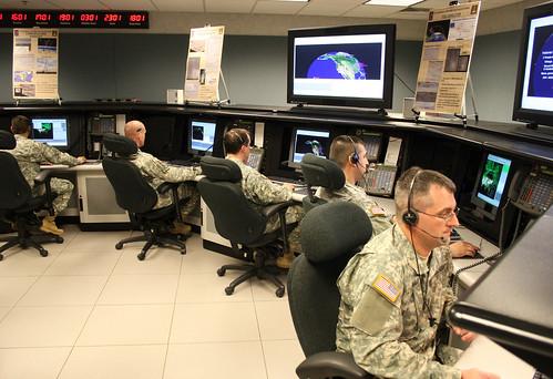 alaska national guard members of bravo crew  49th missile defense battalion