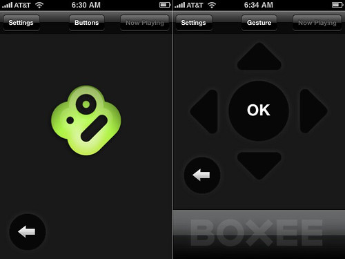 boxee iphone remote