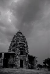 Pattadakal (Shrenik Sadalgi) Tags: bw india architecture contrast temple nikon sandstone cloudy style overcast 1855 karnataka shrenik nagar chalukya dravidian pattadakal bagalkot d80 shreniksadalgi sadalgi