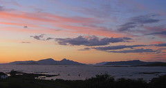 Sunset over the Inner Hebrides (NickD58) Tags: sunset skye rum muck sanna hebrides ardnamurchan rhum eigg portuairk blipfree