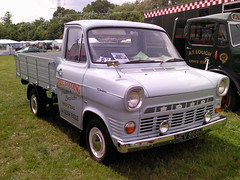 1970 Mk 1 Ford Transit Pick Up (Trigger's Retro Road Tests!) Tags: ford up 1 photos transit 1970 pick essex 2009 colchester mk rallye olde tyme aldham
