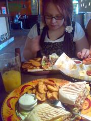 Hääpäivän ateria Amarillossa