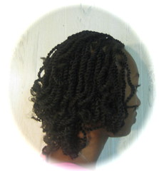 Adorable Kinky Twists-sideview (mrsjehaan) Tags: black hair beads longhair bob twist shorthair ponytail braids naturalhair weave coils extensions locs shreds afropuff nappyhair crimps dreadlocs microbraids kinkytwist blackhairstyles combtwist scalpbraids