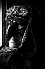 (Vincenzo Pioggia) Tags: portrait carnevale pioggia bianco nero ciro ravenna maschera vincenzo blackwhitephotos