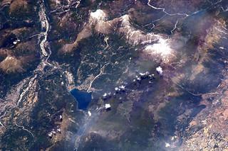 Belluno e il Lago di Santa Croce, Italia