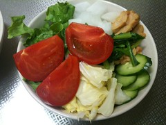 朝食サラダ(2011/5/13)