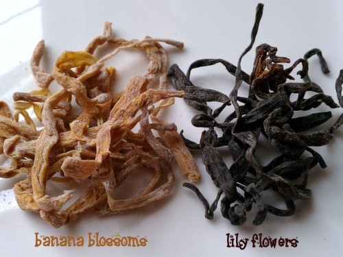 Dried Blossoms for Cooking
